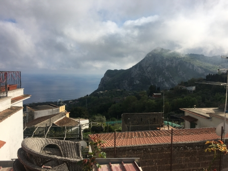 Massa Lubrense, Loc CASA, vendesi panoramica mansarda